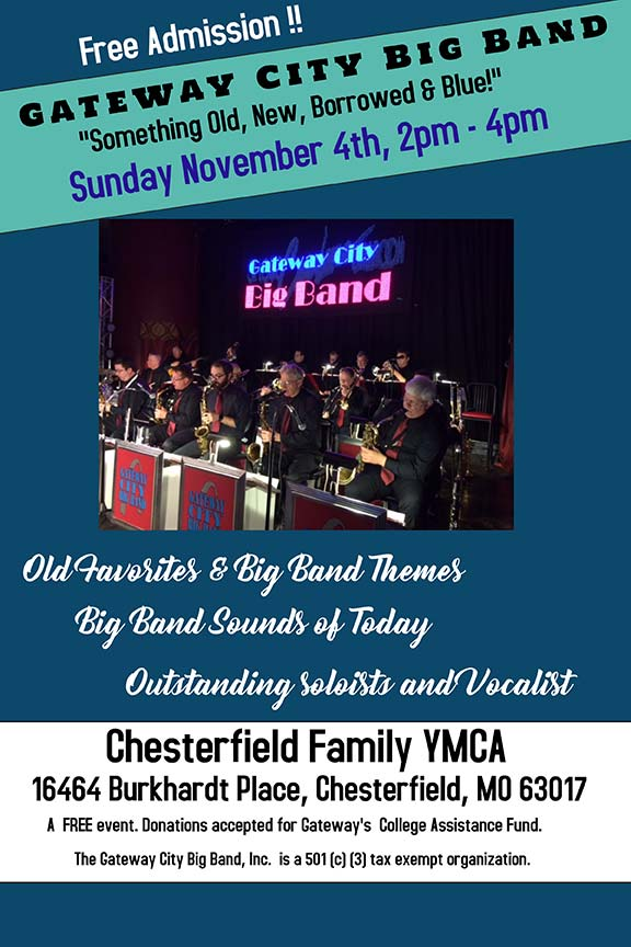 Gateway City Big Band at Chesterfield YNCA